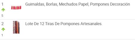Día de la independencia ranking de pompones más vendidos en México